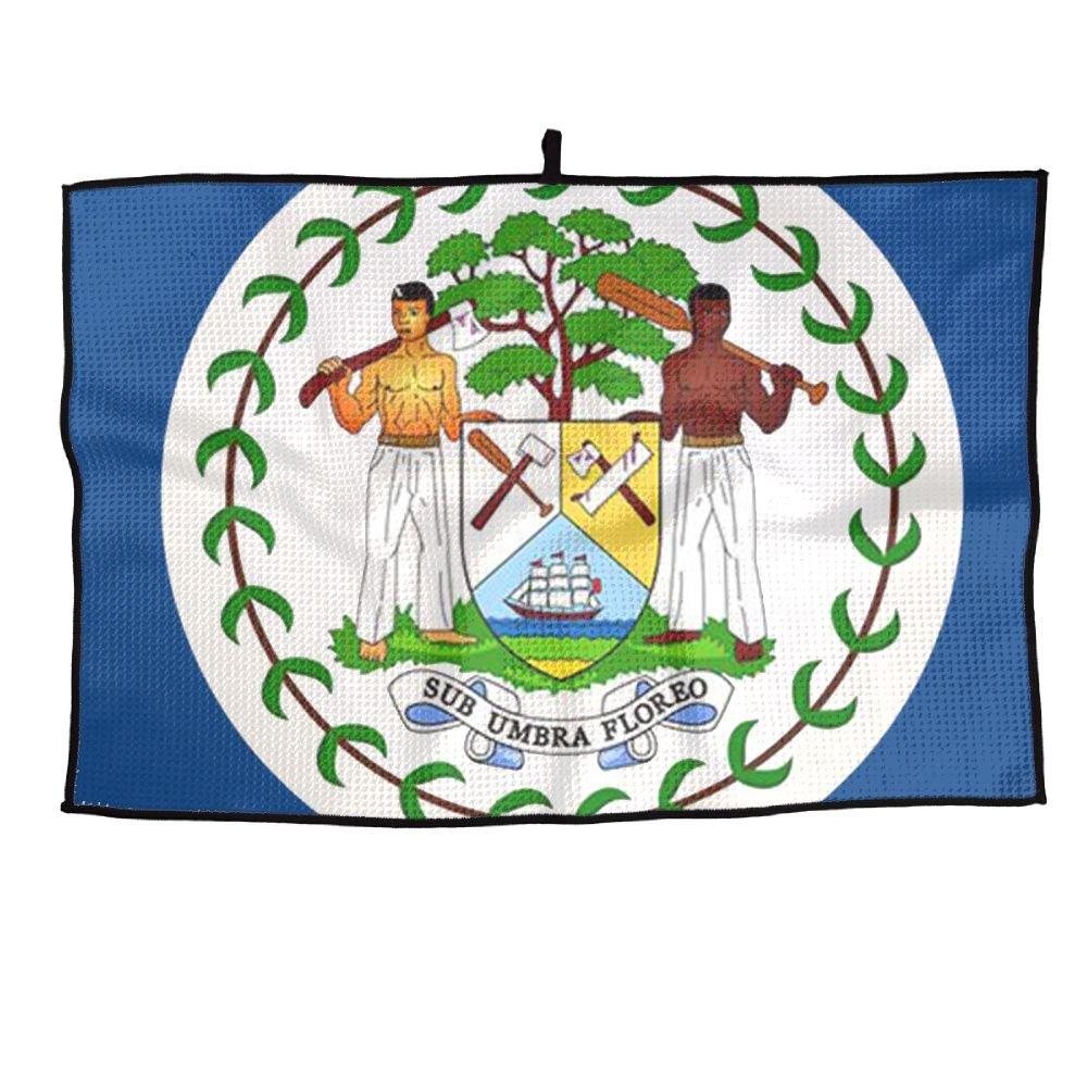 即日発送 ゲームLifeベリーズNational Flag B07FCCV4QM Flag Personalizedゴルフタオルマイクロファイバースポーツタオル B07FCCV4QM, ブランドリサイクルストアスマイル:6bc7cd2a --- a0267596.xsph.ru