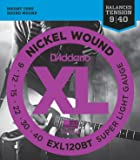 3 Sets | D'addario EXL120BT Balanced Tension Super Light Electric Guitar Strings