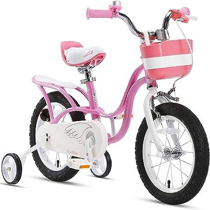 "12/""//16/"" Bicycle Basket White W// 3 Flowers Blue//Pink//Purple Girl Kid Bike Basket"
