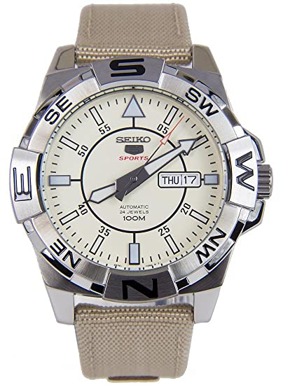 Seiko De los hombres Watch 5 Sports Japan Reloj SRPA67K1: Amazon.es: Relojes