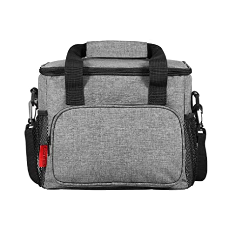 b0e08e00c3b3 Esonmus Lunch Bag Lunch Box Foldable Picnic Bag Insulated Bag Bento Bag Ice  Bag Food Storage Bag Durable Picnic Cooler Bag for Traveling and Business  ...