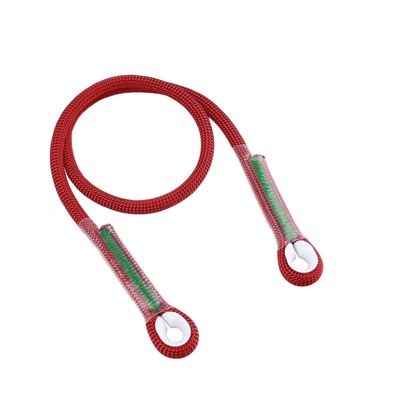 2//5 80 inch 40 inch Geelife 10.5mm Prusik Loop Pre-Sewn Rope Climbing Gear Eye-to-Eye Prusik Cord 24 inch