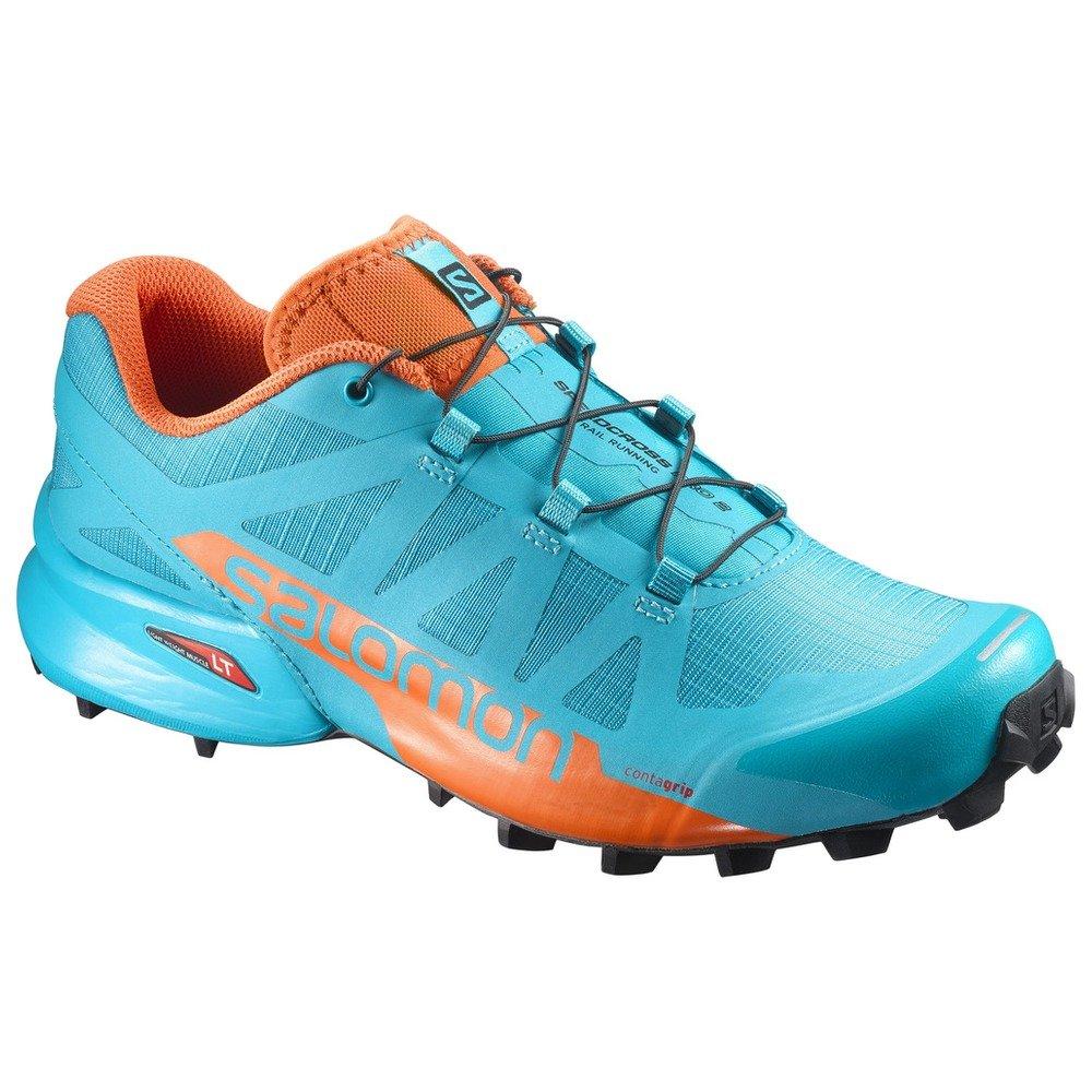 Salomon Women's Speedcross Pro 2 W Trail Running Shoe B01MTRA91L 6 B(M) US|Blue Bird, Scarlet Ibis, Black