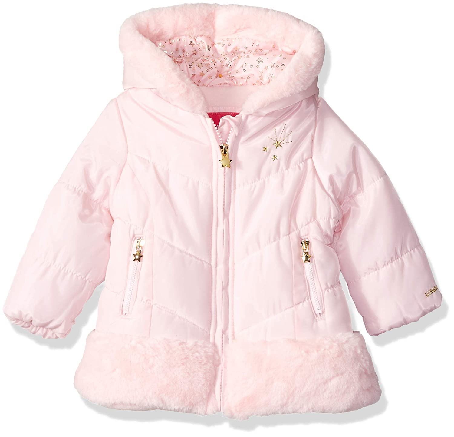 London Fog Baby Girls Shine Warm Winter Jacket, L218567