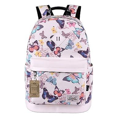 Mocha weir JIAYBL Children School Girls Ladies Women Backpack