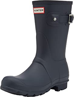 Hunter Navy, Damen Gummistiefel, Blau (Original Tall Wft1000rma), 37 EU
