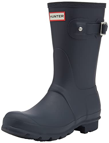 Gummistiefel HUNTER - Original Short WFS1000RMA Navy jzd8Po