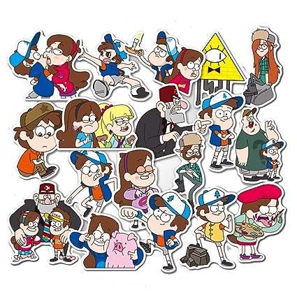 Amazon.com: Pegatinas de dibujos animados de Cumpleaños ...