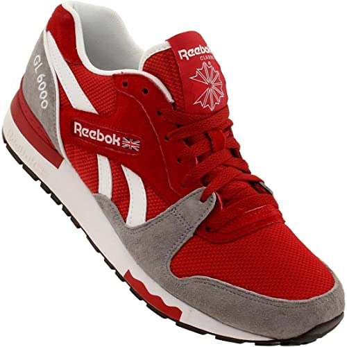 5567634de9b Reebok GL 6000 - Flash Red   Flat Grey-White