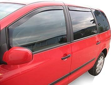 J J Automotive Windabweiser Regenabweiser Für Golf Iv 3 Türer 1997 2004 2tlg Heko Dunkel Auto