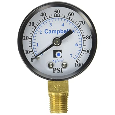 Campbell Manufacturing Llc Campbell pg1t-nl Gauge: Home Improvement