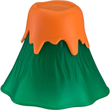 Kitchen Gizmo Eruption Disruption Microwave Cleaner - Clean In Minutes With This Fun, Erupting Volcano. (Green)