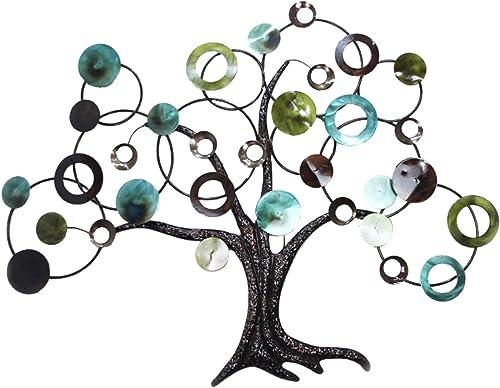 Home Source 400-22033 Decorative Metal Tree Wall Art