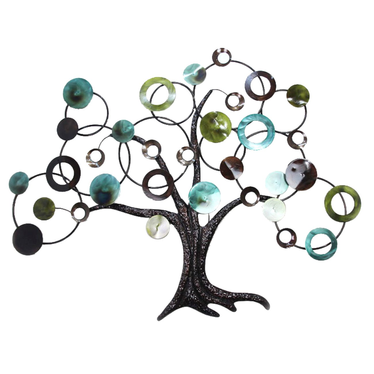 Amazon.com: Home Source 400 22033 Decorative Metal Tree Wall Art, 40.75 By  31.4 Inch: Home U0026 Kitchen