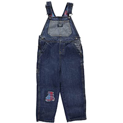 OshKosh B'Gosh Boys' 2T-4T Patched Overalls