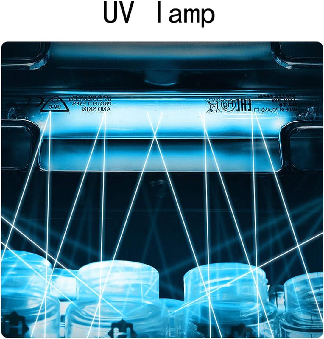 JUY Babyflaschen-Sterilisator mit Trocknung multifunktionaler Desinfektion von Babyartikeln , 20 l mit gro/ßem Fassungsverm/ögen UV-Desinfektionstopf