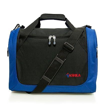 Vashka - Azul Mano Equipaje para WizzAir 42cmx32cmx25cm: Amazon.es: Equipaje