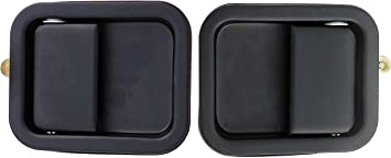 1991-2004 Jeep Wrangler IAMAUTO 83432 Outside Outer /& Inside Inner Door Handle Kit Set of 4 Handles