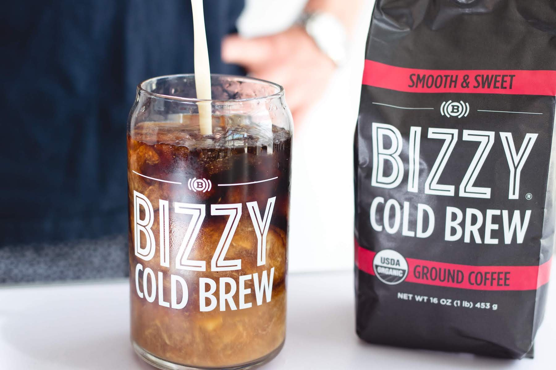 Bizzy Organic Cold Brew Coffee - Smooth & Sweet Blend - Coarse Ground Coffee - 1 Pound by Bizzy (Image #7)