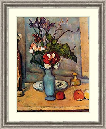 Amazon Framed Art Print The Blue Vase By Paul Cezanne