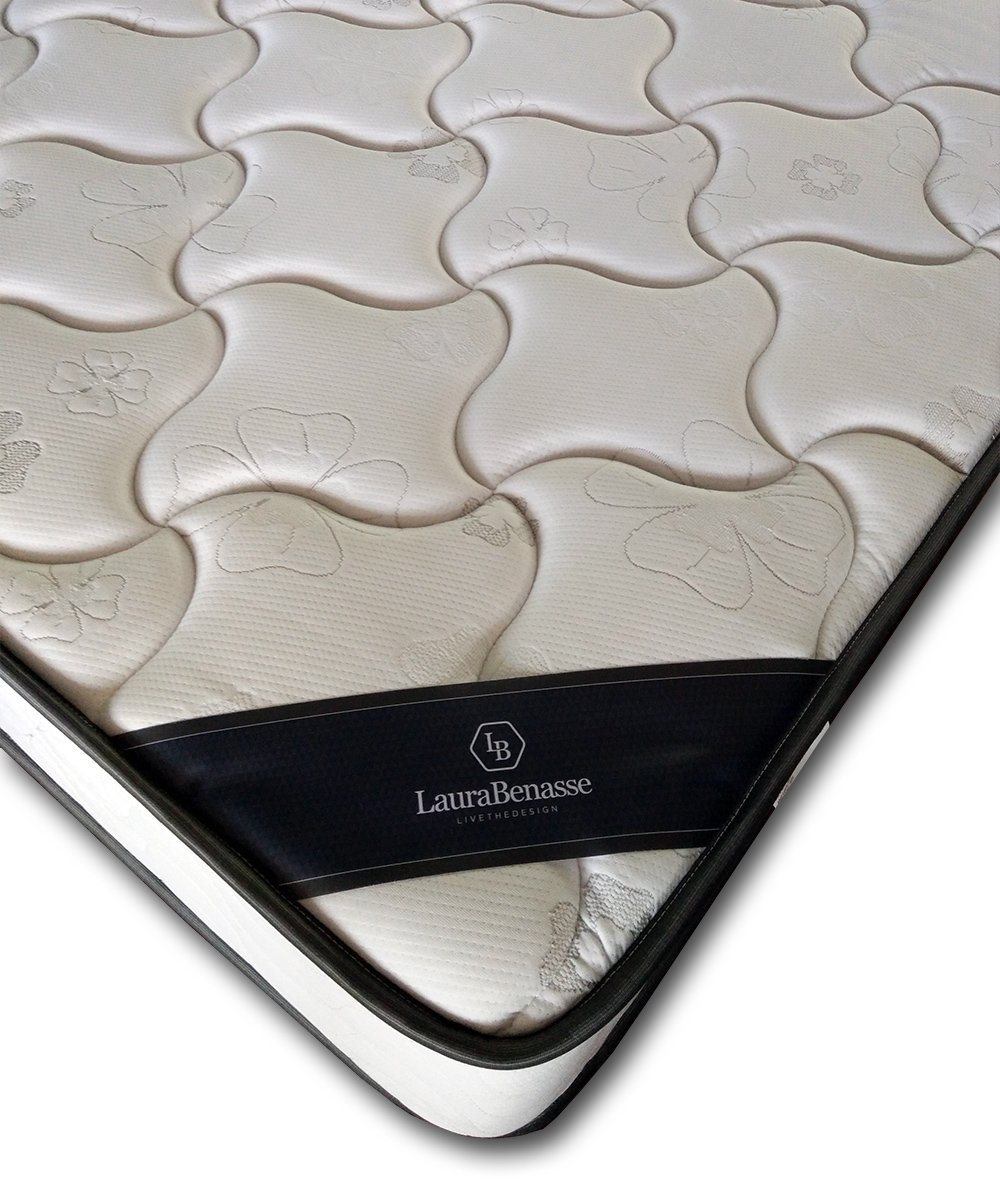 LB LAURA BENASSE LIVE THE DESIGN Memory Foam Innerspring – 8 inch Premium Memory Foam, Dual Side Use, Twin XL, Queen and Full Size Mattress Queen