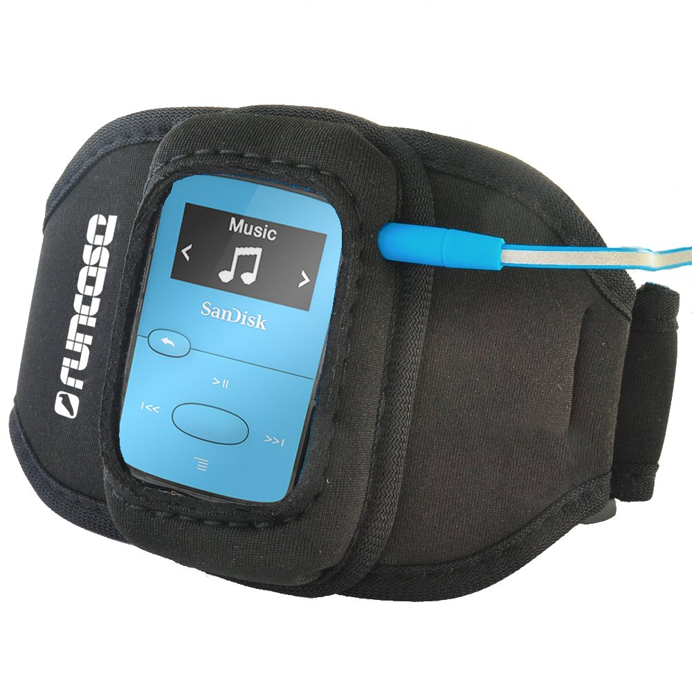 Runcase Armband for Sandisk Sansa Clip+, Clip Sport & Clip Jam MP3 Player (Large (28-37cm))