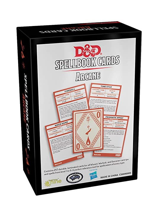 Amazon.com: Dungeons & Dragons Arcana Spellbook - Includes 1 ...