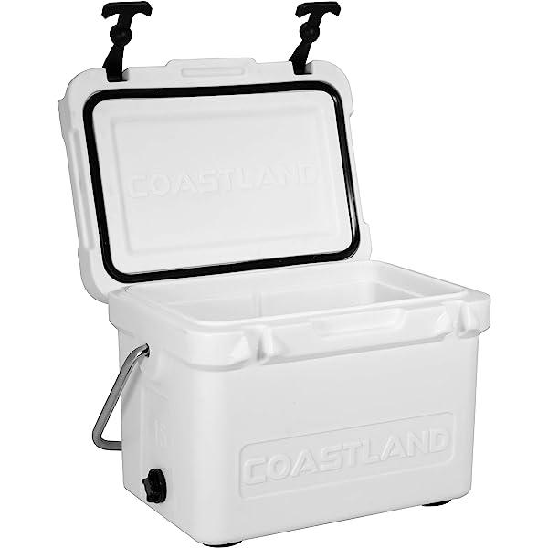 Coastland Delta Series Coolers 45-Quart Ice Chest available in 25-Quart Premium Everyday Use Insulated Cooler 65-Quart /& 125-Quart Capacity