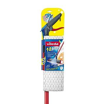 Vileda 1 2 Spray Bodenwischer mit integriertem Sprühtank im Stiel