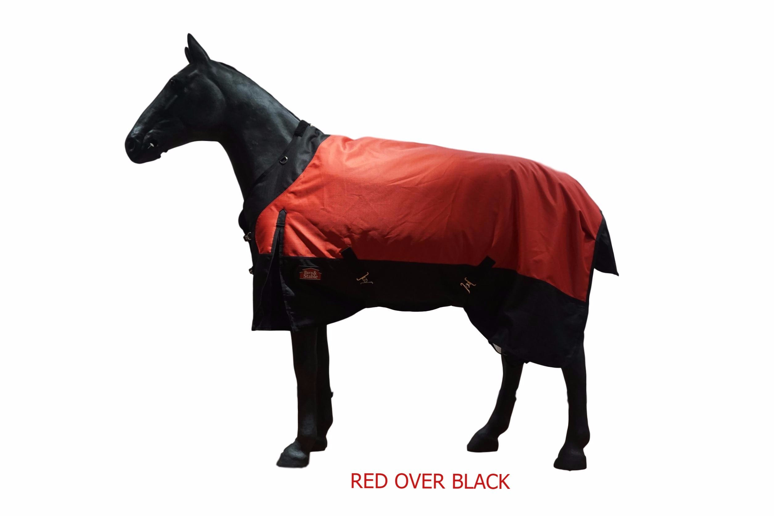 Barn&Stable Horse Blanket Turnout Blanket 1200D Ripstop, 210D Lining and 200grm Fill by Barn&Stable