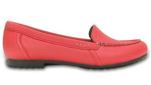 Crocs - Mocasines de Sintético para Mujer Pepper/Black 36 EU: Amazon.es: Zapatos y complementos