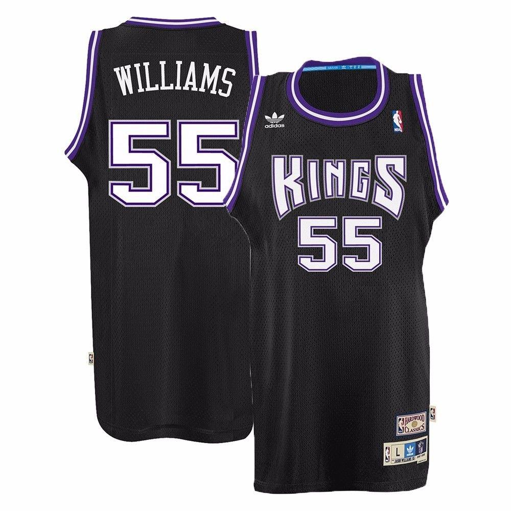 sports shoes 613f8 dff98 adidas Sacramento Kings Jason Williams Soul Swingman Jersey