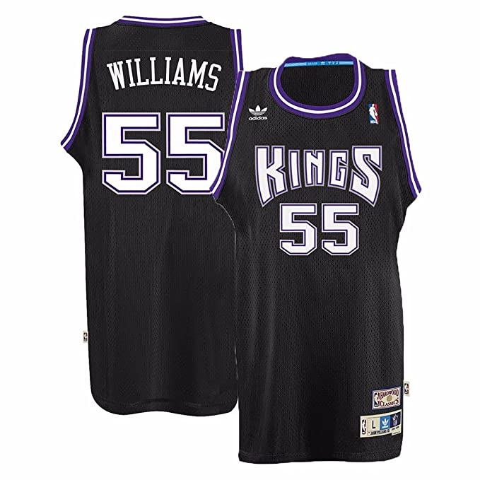 f75900dd12a1 Amazon.com   SACRAMENTO KINGS JASON WILLIAMS Black NBA ADIDAS Swingman  Jersey Men s   Sports   Outdoors