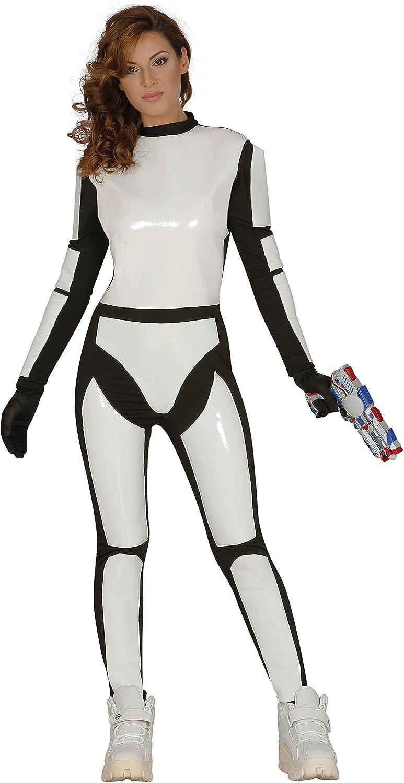 Guirca- Disfraz adulta soldado espacial, Talla 38-44 (84528.0 ...