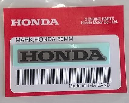 HONDA Mark 50mm Sticker Decal BLUE//BLACK 100/% GENUINE