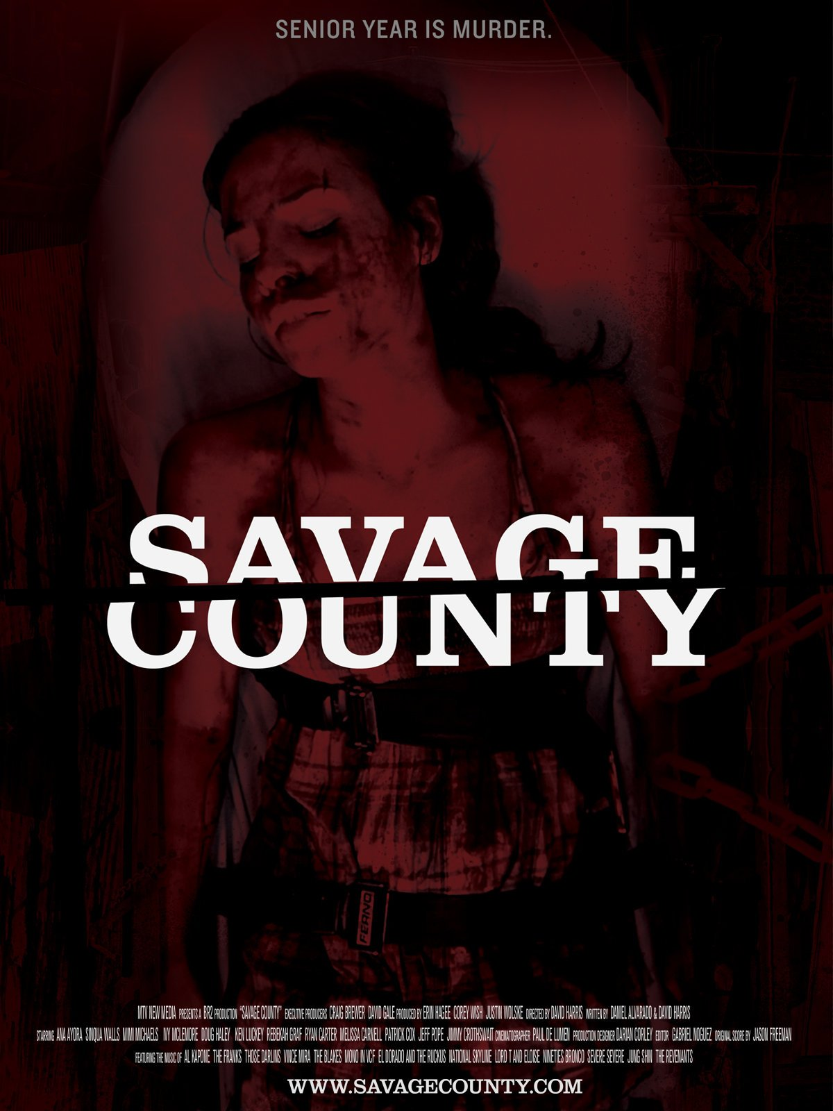 Amazoncom Savage County Ana Ayora Sinqua Walls Melissa - Us counties kml