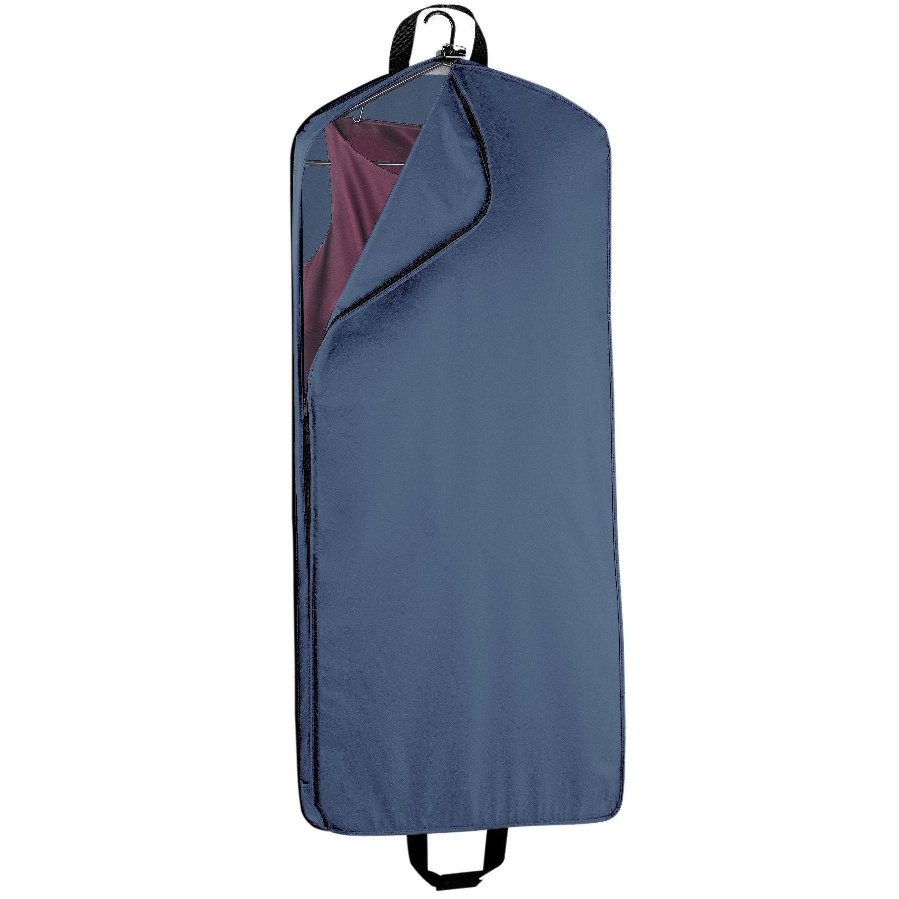 WallyBags 52-inch Dress Length, Carry-On, XL Garment Bag with Two Pockets and Extra Capacity by Wally Bags (Image #2)