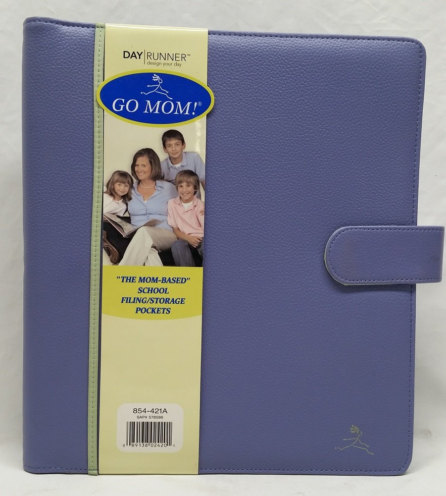 854-421A Day Runner GO MOM! School Organizer. Page Size 9 1/2'' x 11''