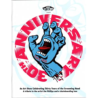 Santa Cruz Zine - 30th Anniversary Screaming Hand Art Show Programme skateboard : Sports & Outdoors