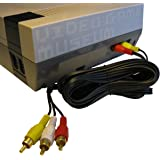 """NES AV Cable """"Simulated Stereo"""" Audio Video TV Cord for Original Nintendo System replaces RF Switch"""