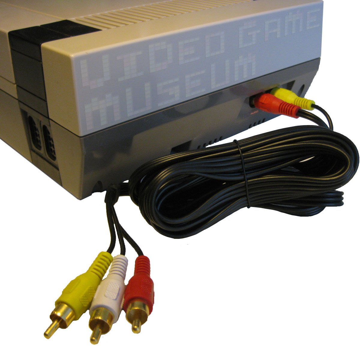 NES AV Cable''Simulated Stereo'' Audio Video TV Cord for Original Nintendo System replaces RF Switch by MIZAR