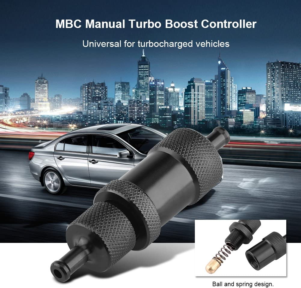 iFCOW Manual Boost Controller Car Universal MBC Manual Turbo Boost Controller For Turbocharged
