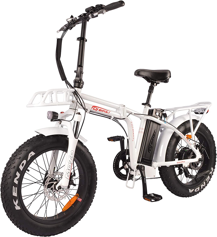 DJ Bicicleta Plegable 750W 48V 13Ah Potencia Bicicleta Eléctrica 7 ...
