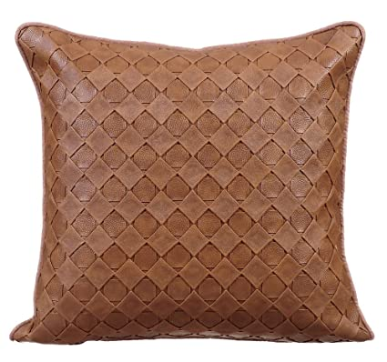 Amazon The HomeCentric 40x40 Pillow Cover Tan Decorative Amazing 22 Inch Pillow Covers