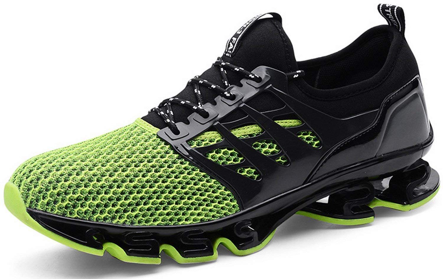Running Shoes Men Mesh Casual Slip on Breathable Walking Stylish Sneakers Athletic Springblade