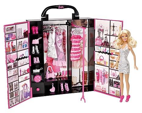 Guardaroba Di Barbie.Barbie X5357 Armadio Della Moda