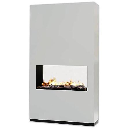 Rubyfires Ethanol Bioethanol Fireplace Room Divider Ambiance Mdf