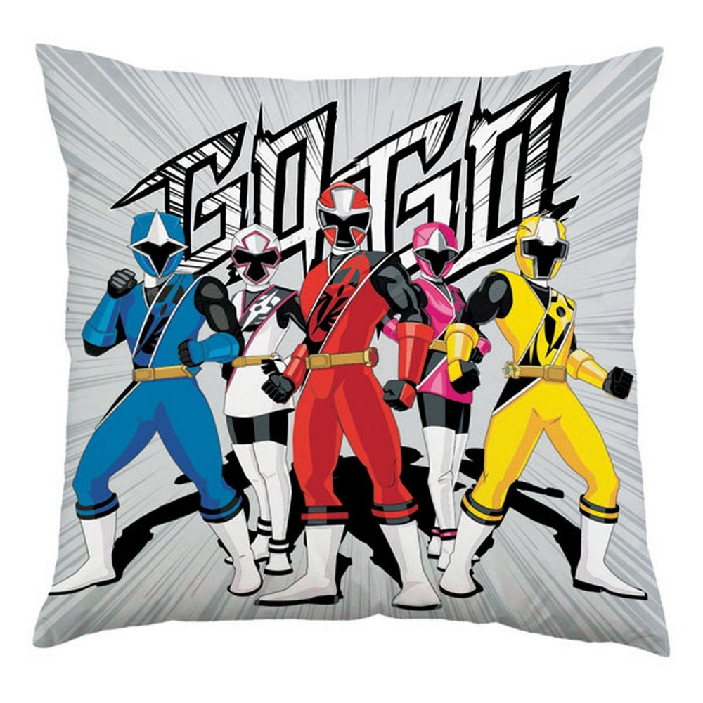 Power Rangers Official Ninja Cushion (14 inches x 14 inches) (Multicolored) UTSG13280_1