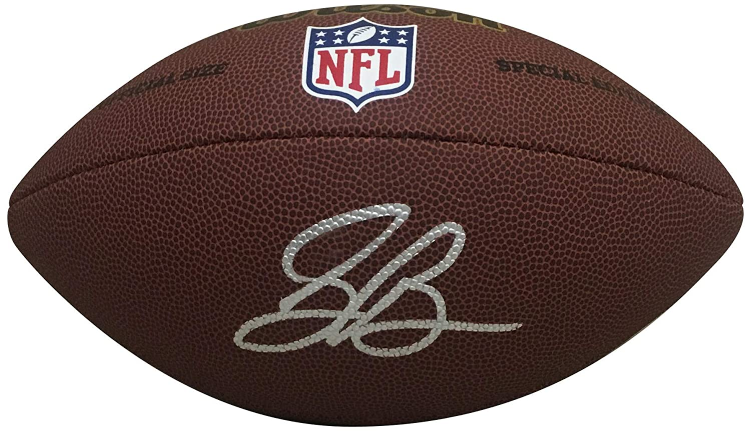 Saquon Barkley New York Giants Autographed NFL Signed Football JSA COA Powers Collectibles