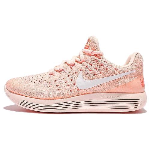 Nike Womens W LunarEpic Low Flyknit 2 IWD BARELY ORANGEWHITE